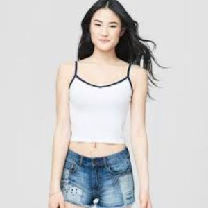 Aéropostale Ribbed Crop Top